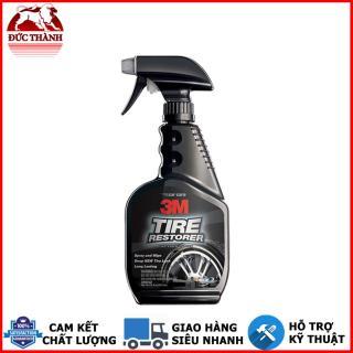 Chai xịt chăm sóc lốp phục hồi cao su - 3M Tire Restorer PN39042 473ml (Đen) tặng kèm cuộn băng keo 3M thumbnail
