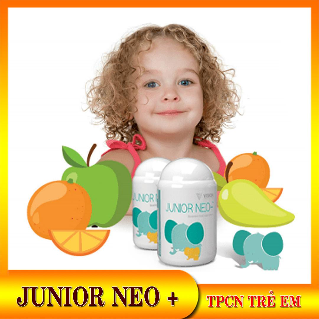 Tăng cường đề kháng trẻ em Junior Neo+ Ngăn ngừng cảm cúm. Vitamin tổng hợp cho trẻ em và người suy nhược.New Vision