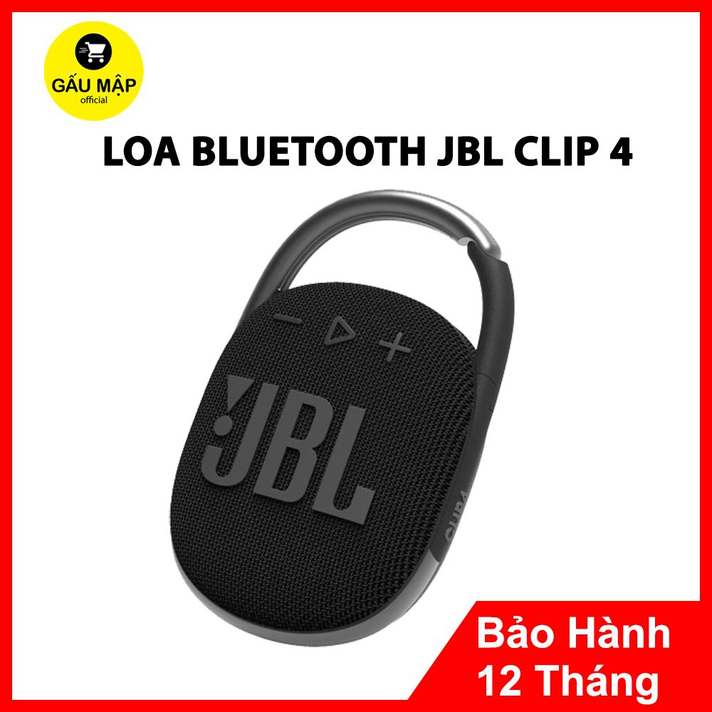 Loa Bluetooth JBL Clip 4   Kháng Nước Chuẩn IP67   Âm Bass Mạnh Mẽ   Chơi Nhạc 10 Giờ   Thiết Kế Gọn, Đẳng Cấp   Cáp Sạc Type C   Nhiều Màu Sắc   Bảo Hành 12 Tháng 1 Đổi 1 Toàn Quốc