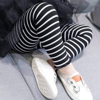 combo 3 chiếc quần legging kẻ sọc cực xinh cho bé gái 6-20kg thumbnail