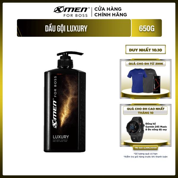 Dầu gội nước hoa X-Men For Boss Luxury - Mùi hương sang trọng tinh tế 650g