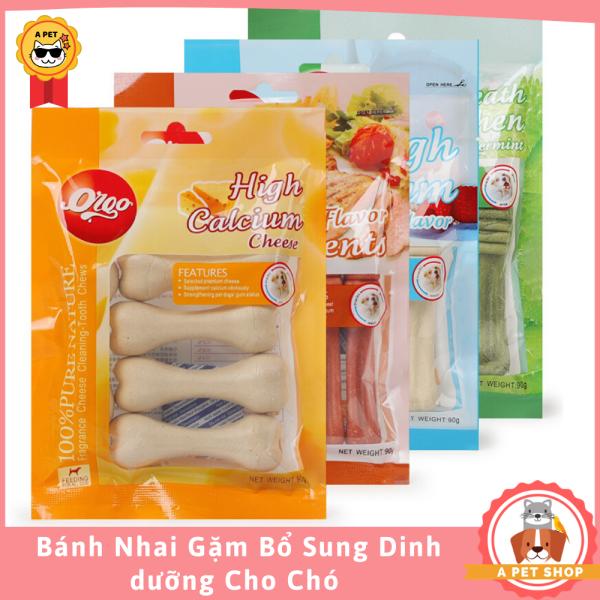 Xương Gặm Làm Sạch Răng Cho Chó Bổ Sung Dinh DưỡngOrgo - A Pet Shop