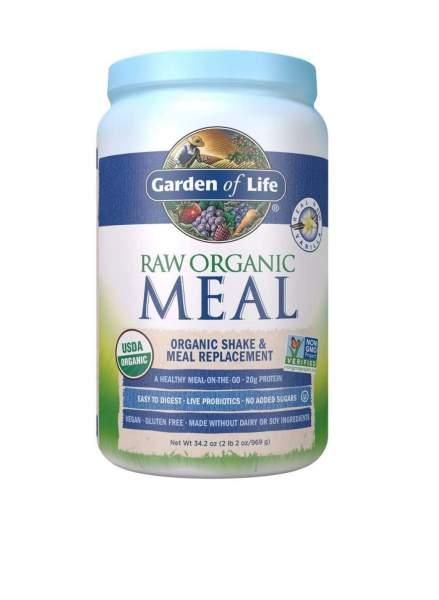 Bột protein hữu cơ Raw Meal , vị vani