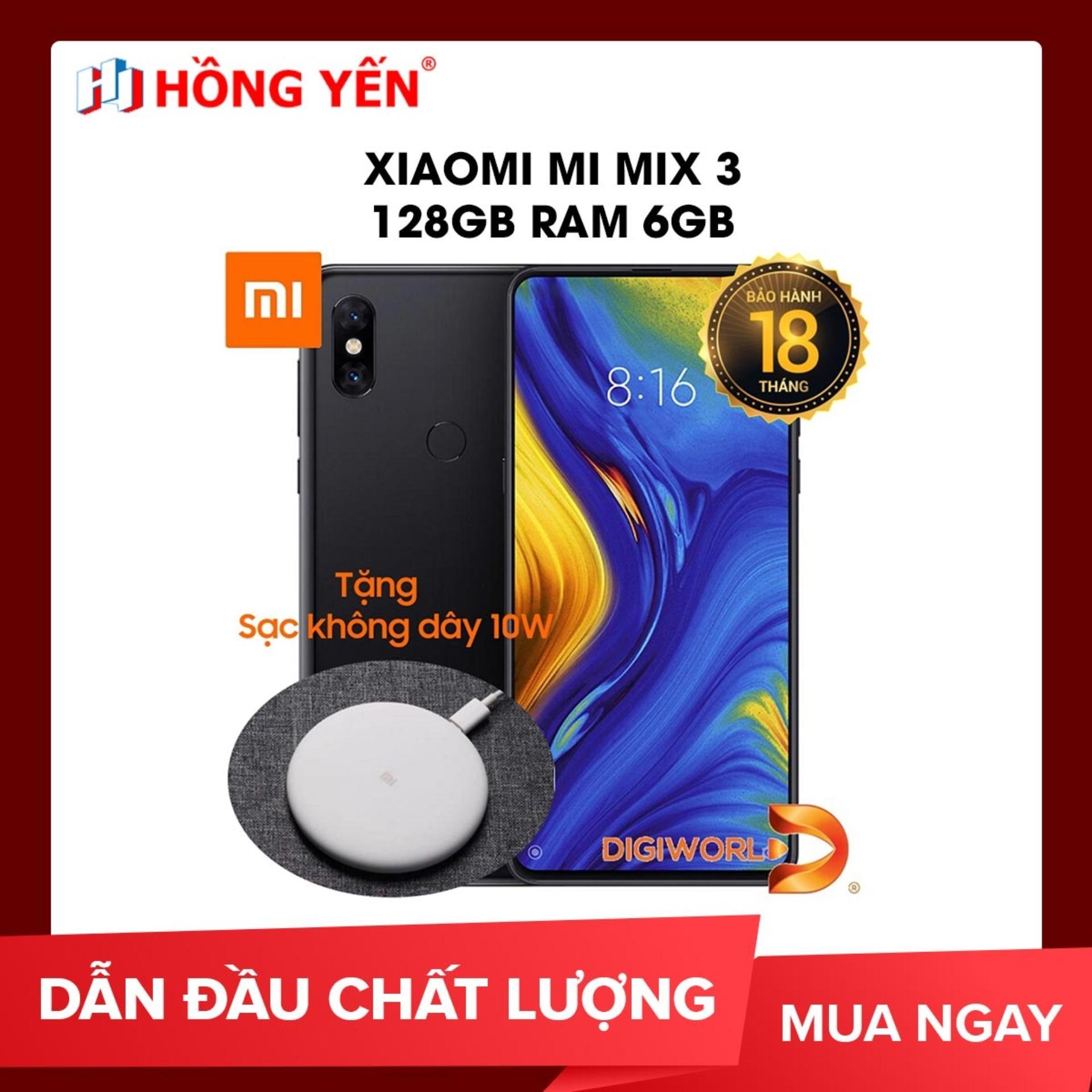 Xiaomi Mi Mix 3 128GB Ram 6GB - Hãng phân phối chính thức