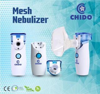 Máy xông mũi họng điện dung CHIDO - Công nghệ Nhật Bản, Sản Phẩm hỗ trợ điều trị hiệu quả các bệnh về đường hô hấp viêm mũi, viêm họng, viêm phế quản, hen suyễn. thumbnail