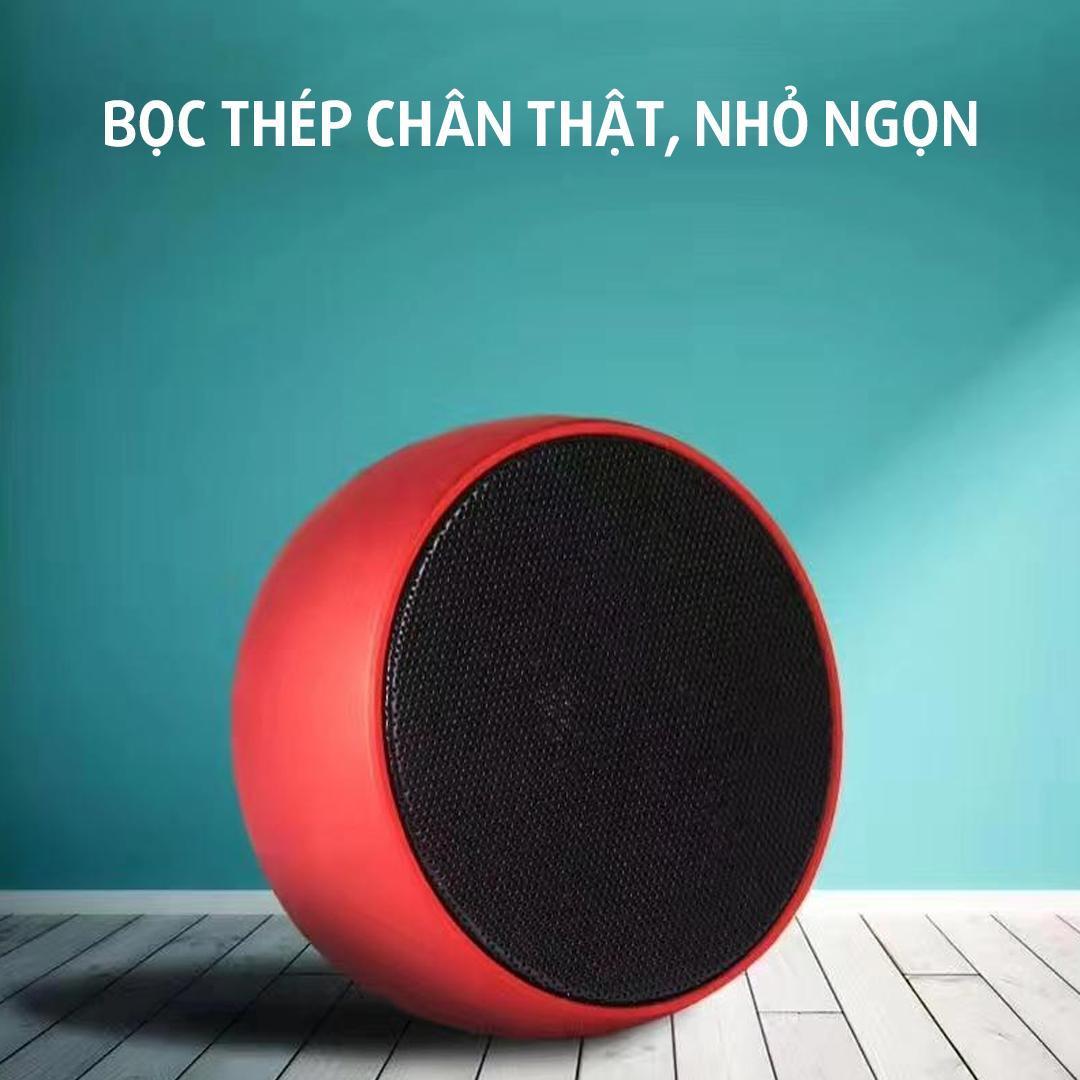 Loa Bluetooth BS01 vỏ thép của Đức, loa bluetooth mini, loa karaoke, loa máy tính, loa cầm tay - hàng chính hãng cao cấp 2021