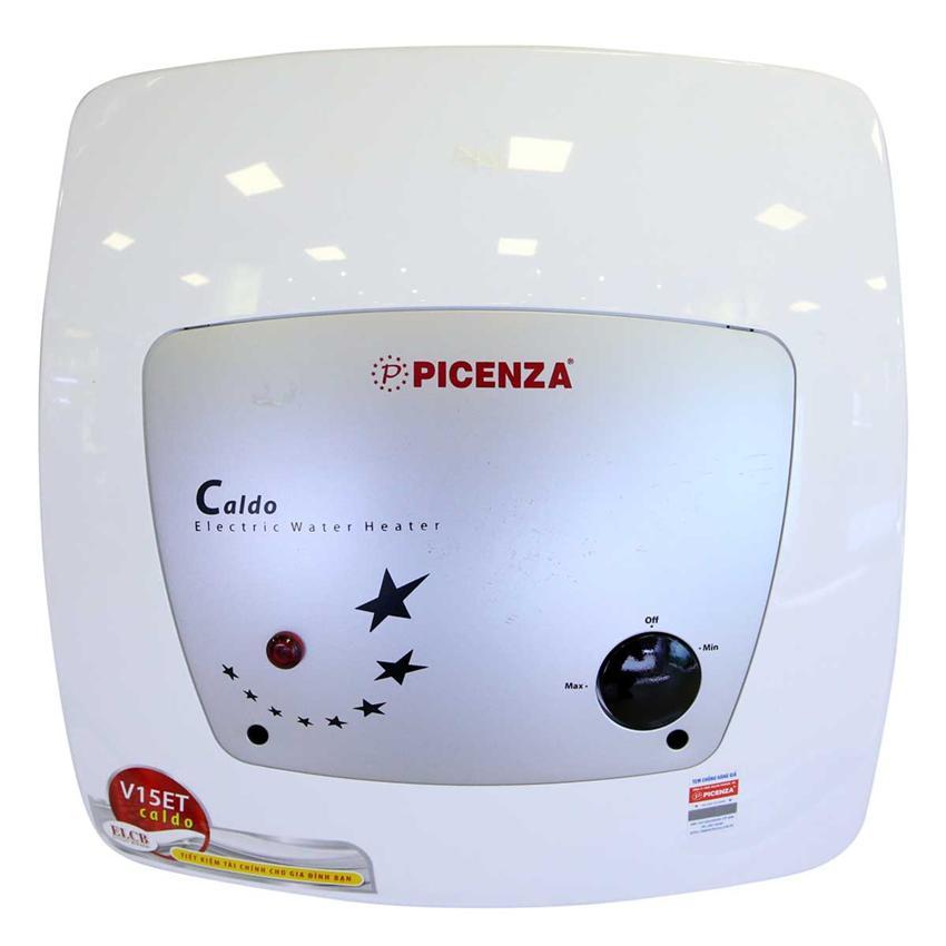 Bảng giá Bình nước nóng chống giật Picenza V30ET + Tặng 02 dây cấp nước