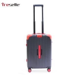 Vali khóa sập Tresette cao cấp nhập khẩu Hàn Quốc TSL 81820 Black+Red thumbnail