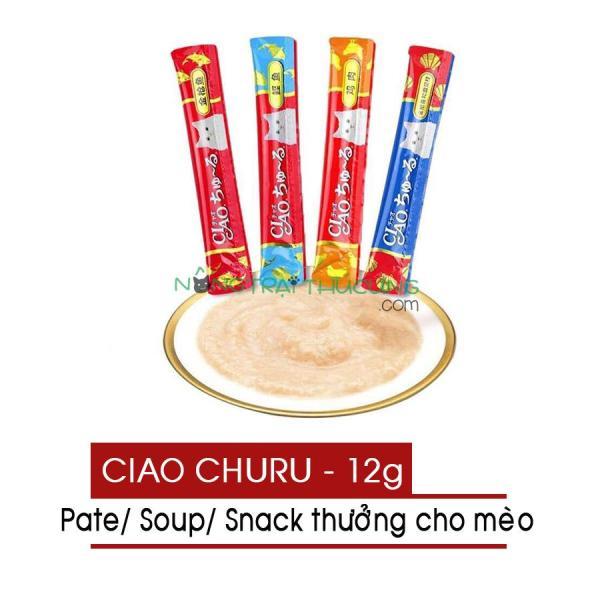 Pate - Súp thưởng CIAO Churu Cho Mèo - [Nông Trại Thú Cưng]