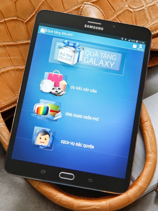 Máy Tính Bảng Samsung Galaxy TaB S2 9.7 | Màn Hình 2K Sắc Nét - Ram3GB. Tặng Sạc Cáp Nhanh Và Tai Nghe. chính hãng