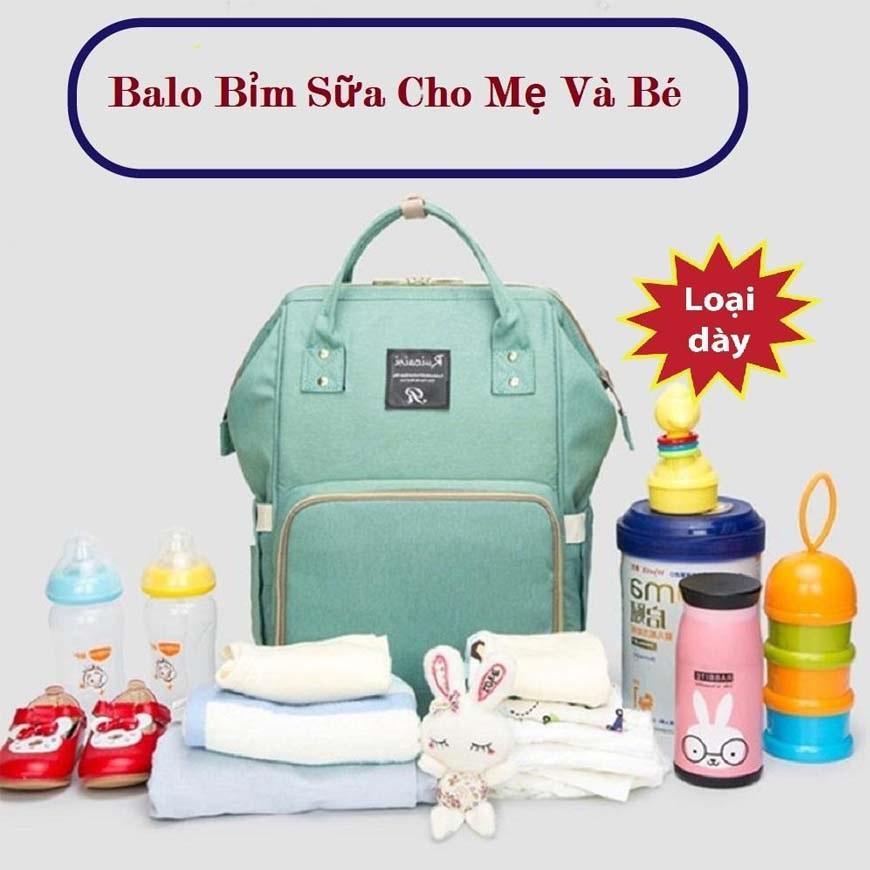 Túi Đựng Đồ Trẻ Em, Balo Đựng Đồ Du Lịch Cho Bé, Balo Đựng Đồ Sau Sinh Cho Mẹ Và Bé Thiết Kế Thông Minh Ngăn Chứa Bình Sữa Giữ Nhiệt Tốt, Chất Liệu Polyester Bền Đẹp, Chống Thấm Nước