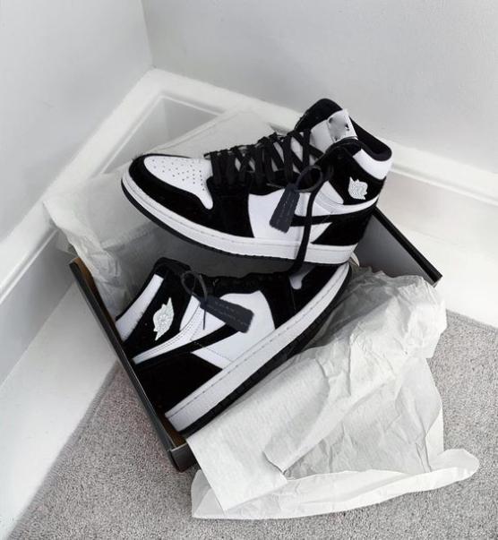 Giày Thể Thao Nam Sneaker  JD Màu Đen Trắng Cổ Cao Phong Cách Đường Phố giá rẻ