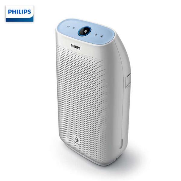 Máy lọc không khí trong nhà cao cấp nhãn hiệu Philips AC1216/00 công suất 50W, tích hợp cảm biến chất lượng không khí 4 màu