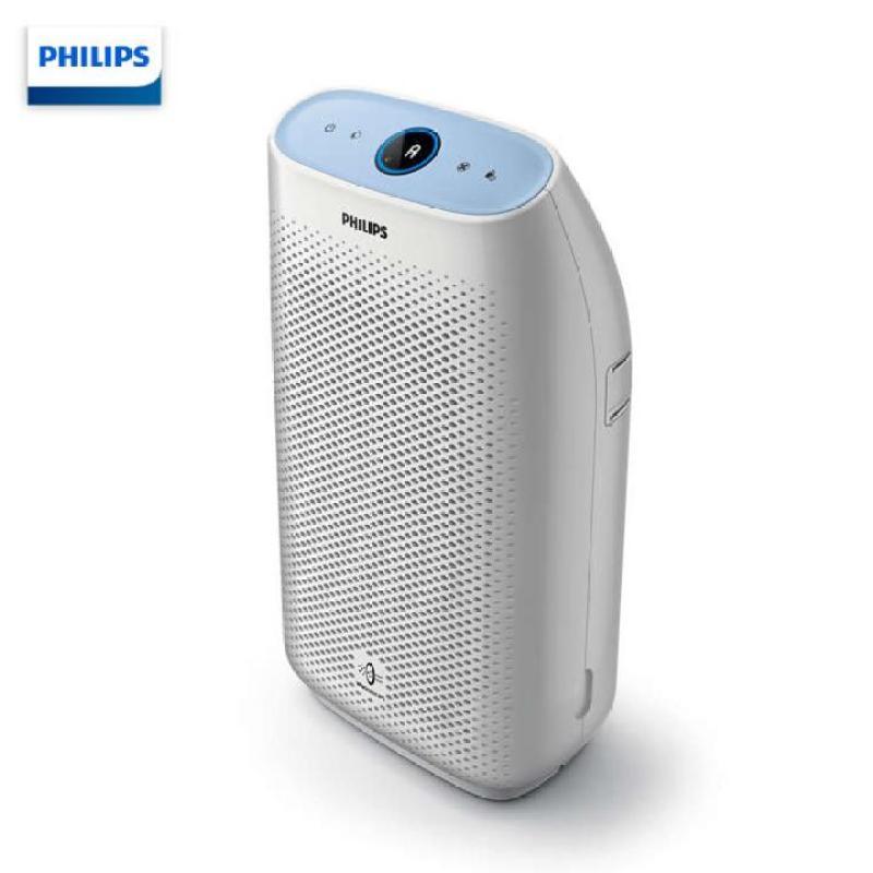 Máy lọc không khí trong nhà kháng khuẩn nhãn hiệu Philips AC1216/00 tích hợp 4 cảm biến chất lượng không khí, công suất 50W ( Màu trắng)