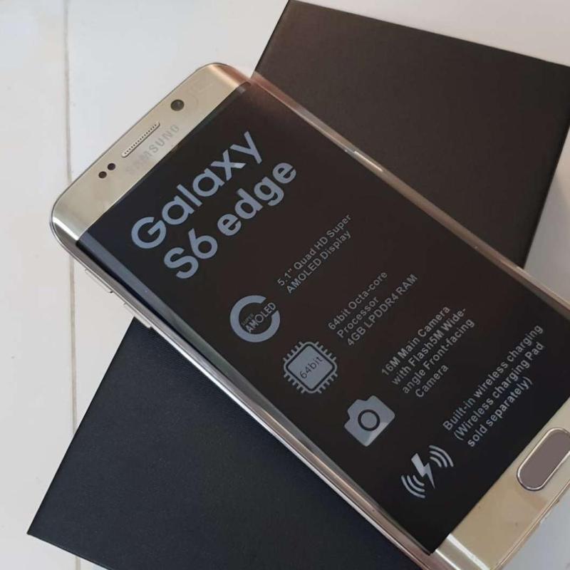 SAMSUNG GALAXY S6 EDGE Fullbox