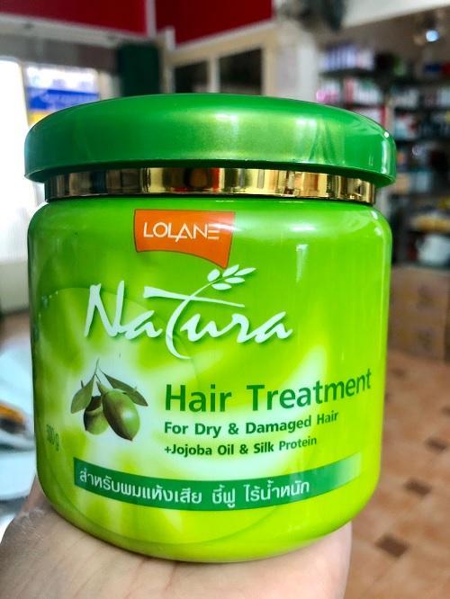 Kem ủ tóc chiết xuất OLIVE - LOLANE siêu mềm muợt 500g chính hãng