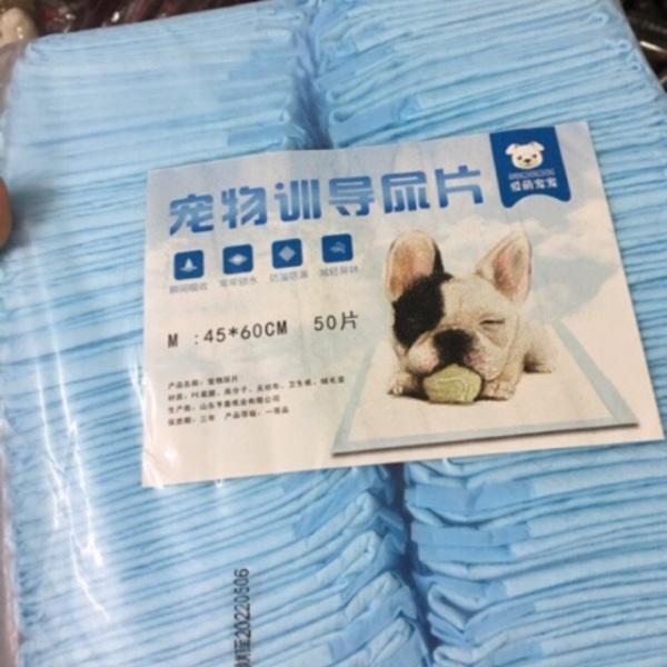 Bịch 100 Tấm lót S/50 tấm lót M cho chó mèo
