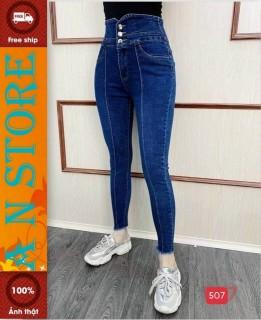 quần jean nữ cao cấp win 268 AN NHIÊN FASHION MẪU MỚI NHẤT M507 màu xanh sáng dáng chuẩn lưng cao siêu hót hiện đại phong cách hàn quốc thời trang An Nhiên store9999 AN709 thumbnail
