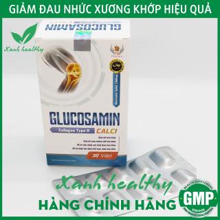 Viên uống GLUCOSAMIN Calci White 1500mg - Hết đau nhức xương khớp, làm trơn ổ khớp giúp vận động dễ dàng - Hộp 30 viên thumbnail