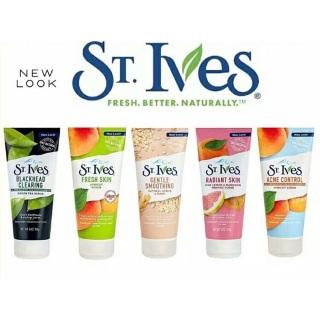 [SIÊU PHẨM] TẨY TẾ BÀO CHẾT DA MẶT Sữa rửa mặt tẩy da chết St.Ives sạch da ngăn ngừa mụn cho da thumbnail
