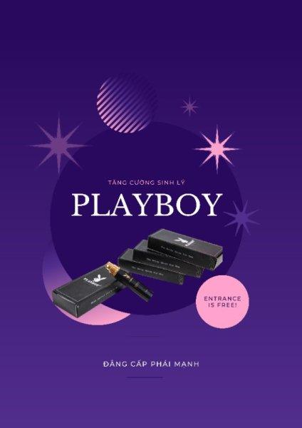 Chai xịt kéo dài thời gian, chống xuất tinh sớm Playboy
