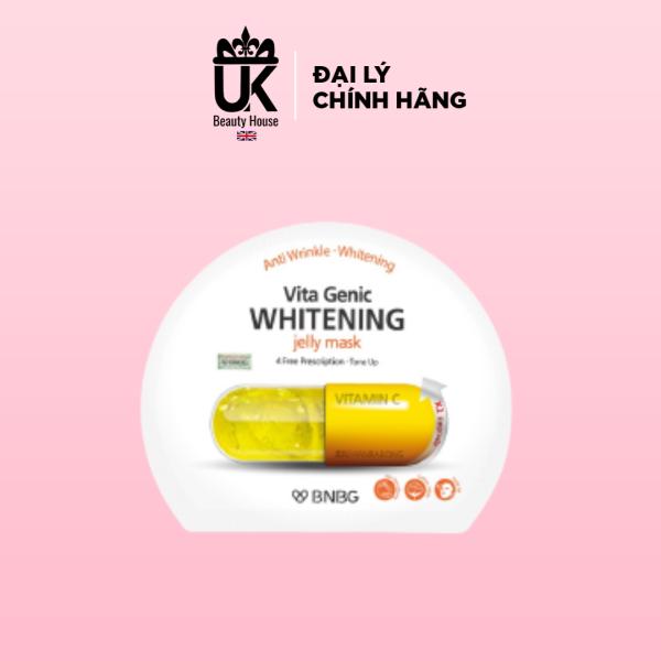 Mặt nạ giấy BNBG Vita Genic Jelly Mask Vitamin C Whitening 30ml (1 miếng)