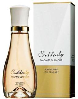 Nước hoa Suddenly Madame Glamour với mùi hương dịu dàng, nữ tính và đầy quyến rũ. Được nhiều phụ nữ lựa chọn sử dụng vào những thởi tiết mát lạnh hoặc làm những món quà đặc biệt. thumbnail