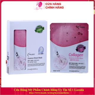 [Hàng Nhập Khẩu Hàn Quốc] Mặt nạ dưỡng trắng da - Mặt nạ giấy Collagen làm căng và trắng da HOLIKEY Hàn Quốc 25ml thumbnail