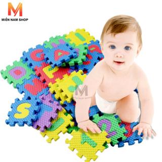 Bộ chữ cái bằng xốp cho bé ( bao gồm 26 chữ cái và 10 chữ số) thumbnail