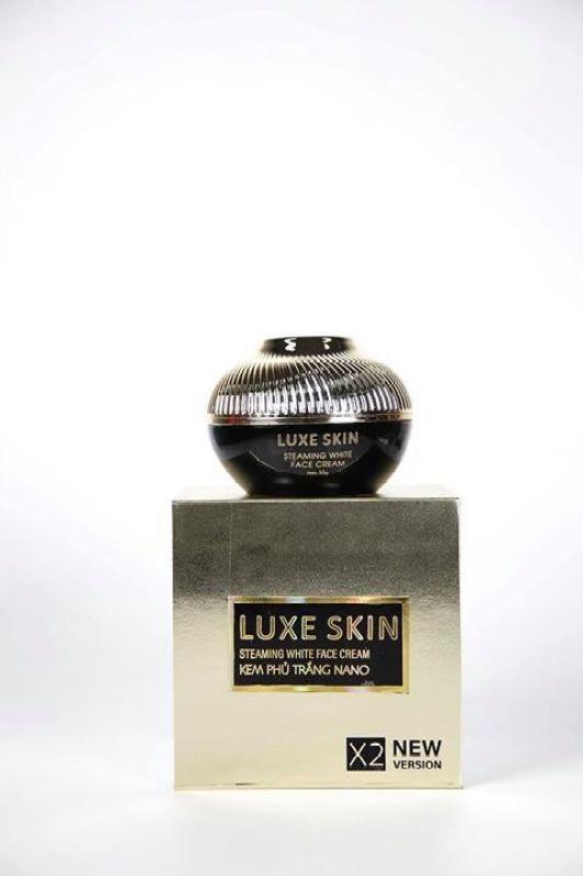 Kem Ủ Trắng Mặt Cao Cấp LUXE SKIN 30g- Tặng kèm tắm trắng cafe Luxe Skin trị giá 99.000 nhập khẩu