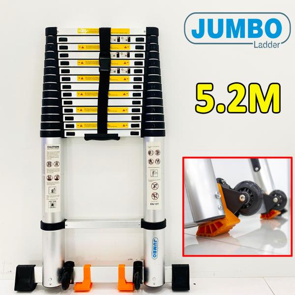 Thang nhôm rút xếp 5,2M Jumbo C520 Thái Lan