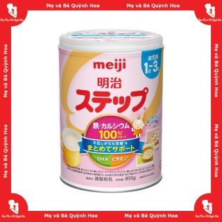 Sữa Meiji Sữa Meiji nội địa Nhật Sữa Meiji số 1 - 3, 800g - [HÀNG CHÍNH HÃNG - CÓ TEM PHỤ TIẾNG VIỆT] - Giúp tăng cân và tăng chiều cao tốt - Hàm lượng canxi và DHA cao - Hỗ trợ hệ tiêu hóa và miễn dịch - Giàu vitamin và khoáng chất thumbnail