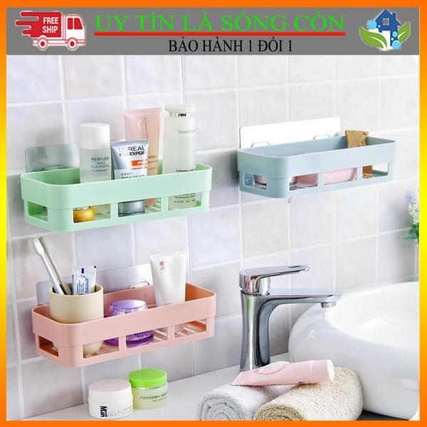 Bảng giá [BAO GIÁ VỊNH BẮC BỘ] Kệ nhựa dán tường nhà tắm, nhà bếp và kệ góc dán tường