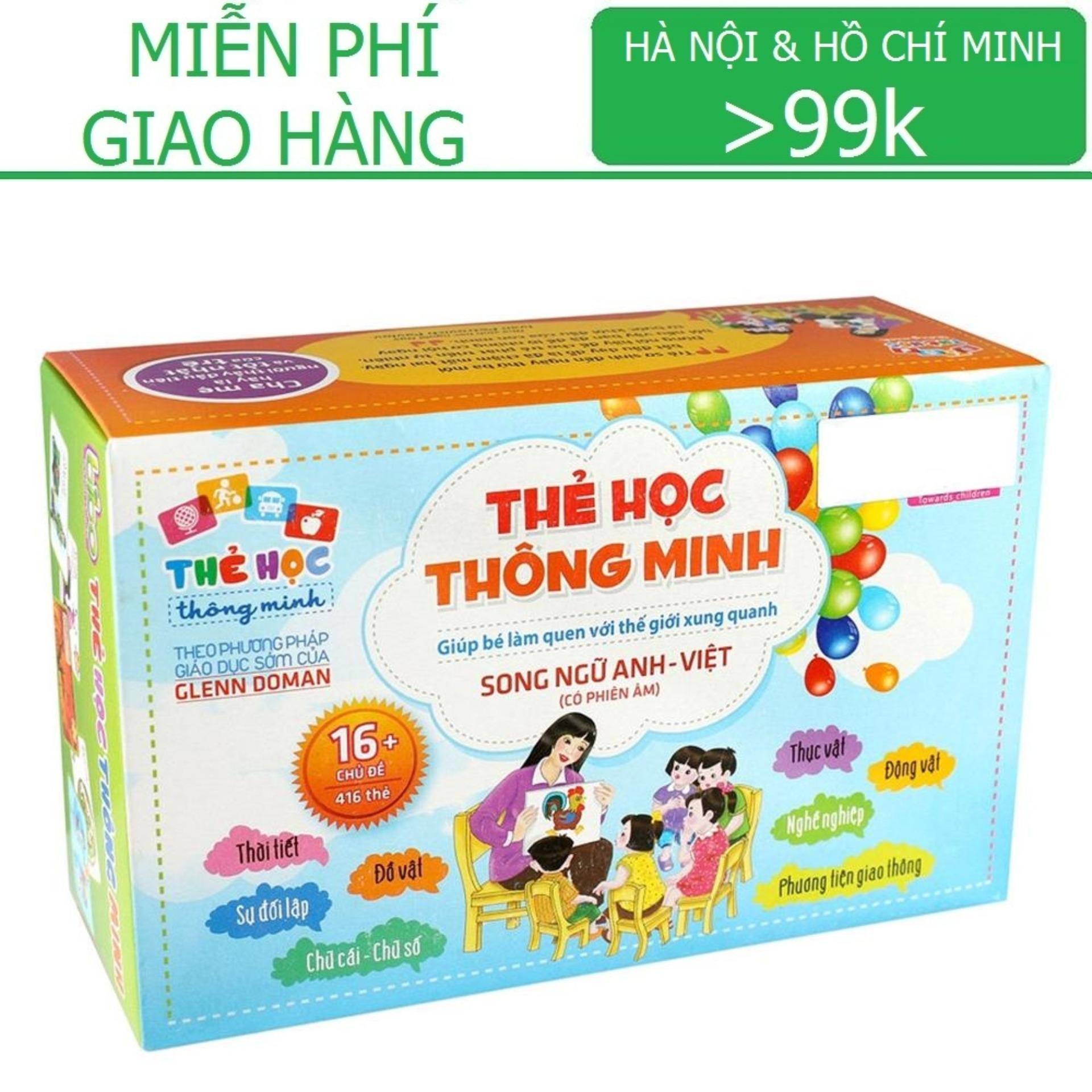 Flashcard: Bộ thẻ Song Ngữ Anh - Việt (có phiên...