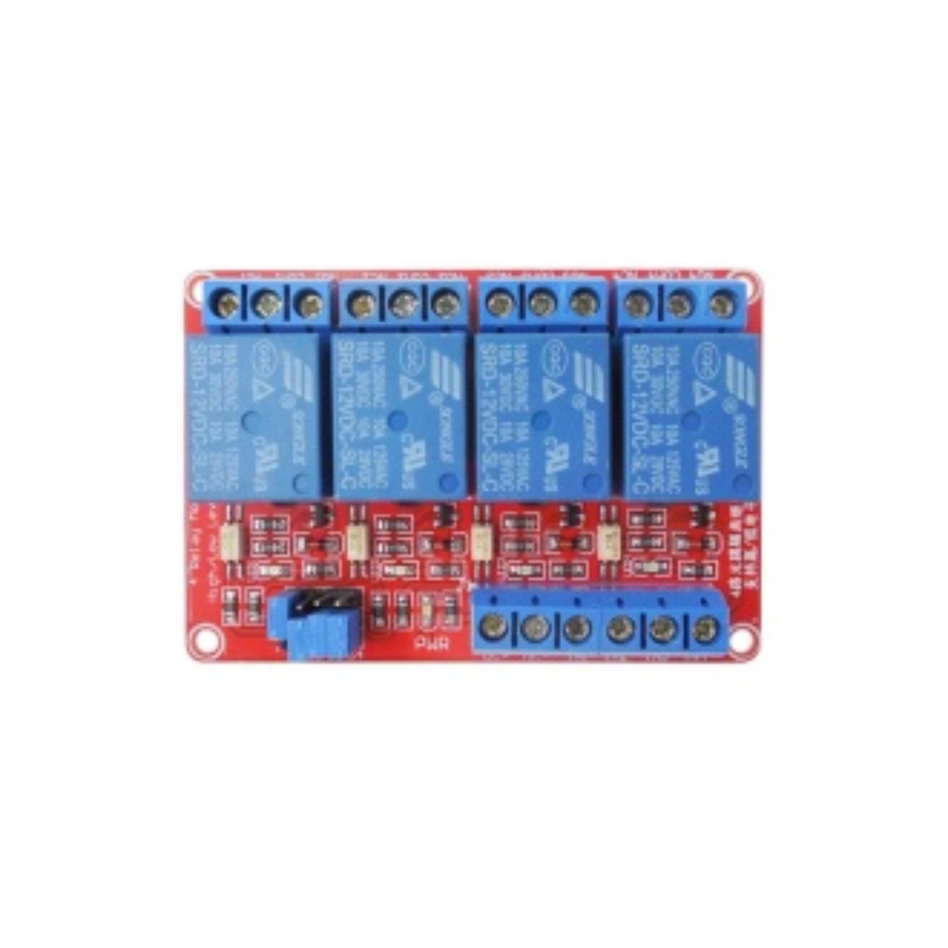 Mua Module 4 Relay Kích H/L (12VDC)