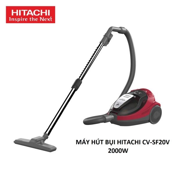 Máy Hút Bụi Hitachi CV-SF20V 2000W - Hút Mạnh, Lọc Hepa & Nano Titanium - Sản Xuất Tại Thái Lan - Hàng Chính Hãng
