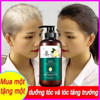 WOOLOVE Ginger King Shouwu - Oil Control Hand Shampoo Nourishing Hair Root Shampoo Essential Oil Soap Mild Black Plant Soap Bộ đồ hai chiếc thumbnail