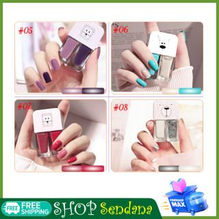 [ MUA 3 TẶNG 1]-Set 2 chai sơn móng tay 2 màu trong 1-Gel sơn móng tone màu hot không gây hại móng thumbnail