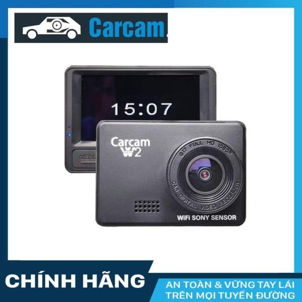 Camera hành trình W2 Carcam Wifi + thẻ nhớ 16/32GB Class 10