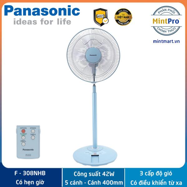 Quạt đứng Panasonic F-308NHB 42W - Hàng chính hãng - Sản xuất tại Malaysia
