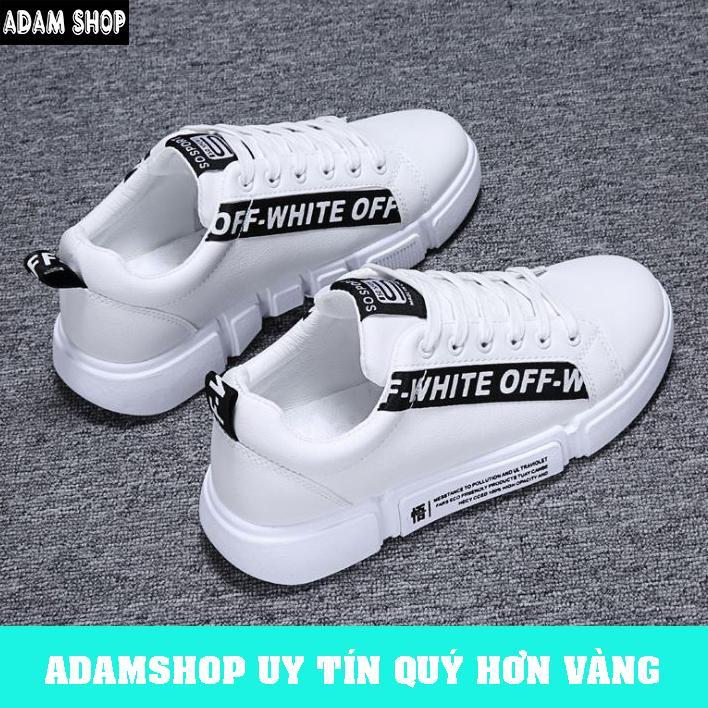 Giày Sneaker Nam Hàn Quốc Cao Cấp (Giá Cực Shock) - ADAM SHOP(AD30) Chất Liệu Vải Sợi Cao Cấp, Thoáng Khí, Bền đẹp Theo Thời Gian Đang Giảm Giá
