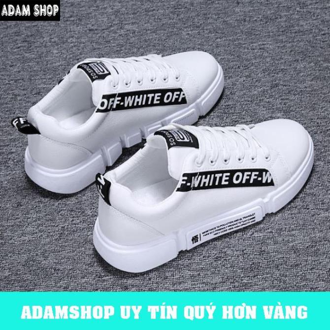 Giày sneaker nam hàn quốc cao cấp (Giá Cực Shock) - ADAM SHOP(AD30) chất liệu vải sợi cao cấp, thoáng khí, bền đẹp theo thời gian giá rẻ