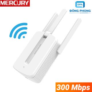 Kích Sóng Wifi Mercury MW310RE 3 Râu 300Mbps Chính Hãng thumbnail
