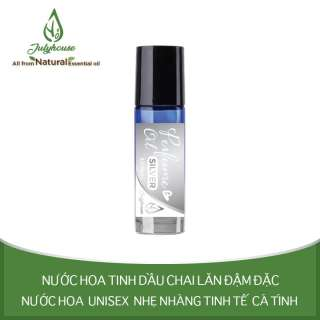 Nước hoa tinh dầu Unisex dạng chai lăn Silver No.05 5ml JULYHOUSE