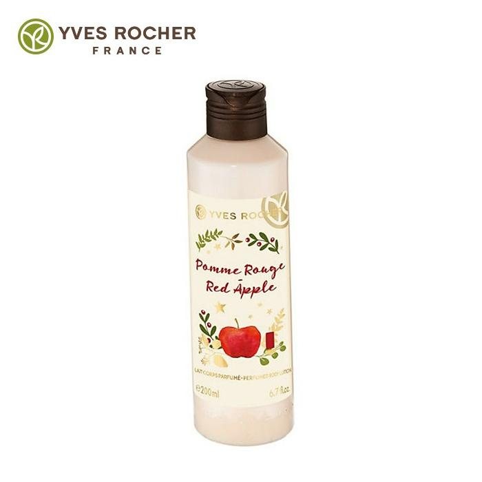 [Yves] Sữa dưỡng thể mềm mịn da Yves Rocherpomme Rouge Red Apple Perfumed Body Lotion 200ml cao cấp