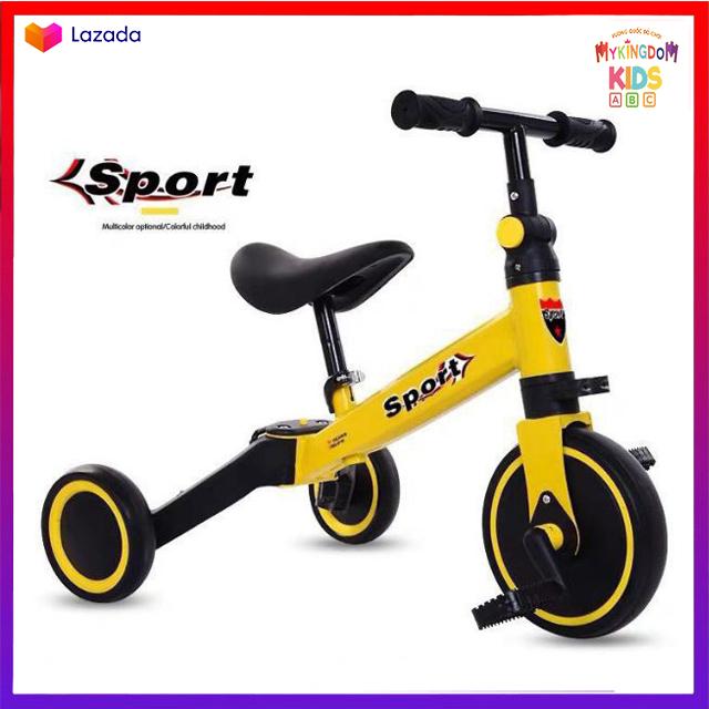 Xe chòi chân có bàn đạp 3 trong 1 Cao cấp cho bé tăng cường thể chất, hoạt động ngoài trời cho bé