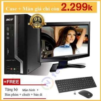 cây máy tính đồng bộ acer dual core e5400 ram 4gb hdd 160gb  bảo hành 12 tháng giá yêu thương