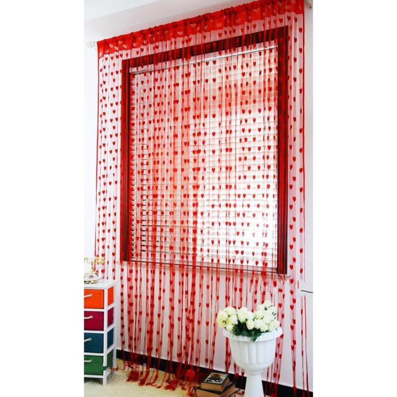 Rèm cửa | Rèm trang trí | Rèm cửa sổ | Rèm cửa trái tim sgr1178