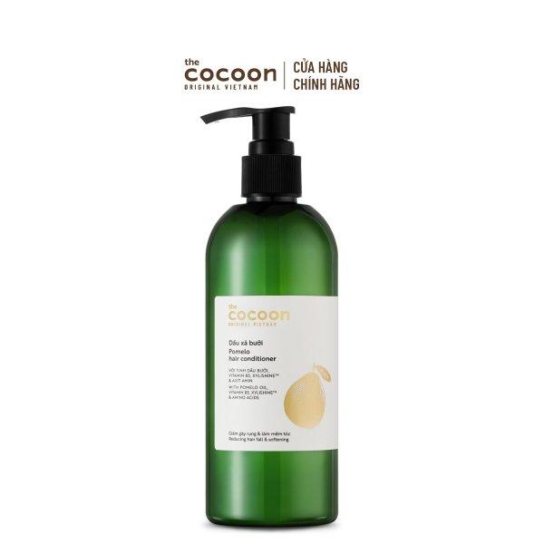 Dầu xả bưởi Cocoon giúp cung cấp dưỡng chất và bổ sung độ ẩm cho tóc 310ml nhập khẩu