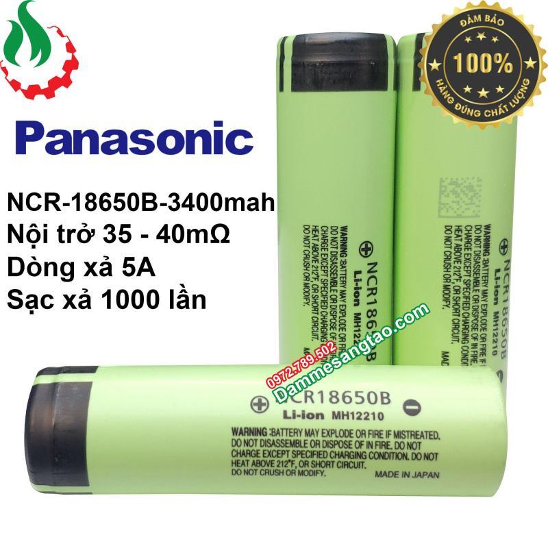 Pin Lion panasonic 18650 - Pin 3v7 - cell pin laptop - dung lượng đủ 3400mAH